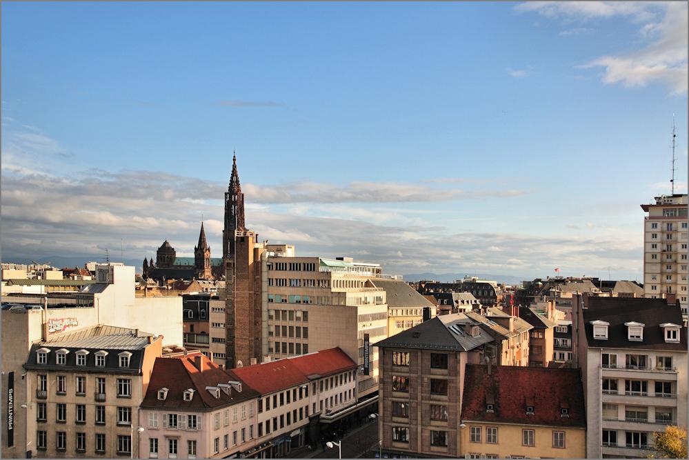 Über den Dächern von Strasbourg (1)
