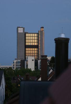Über den Dächern von Stuttgart Vaihingen