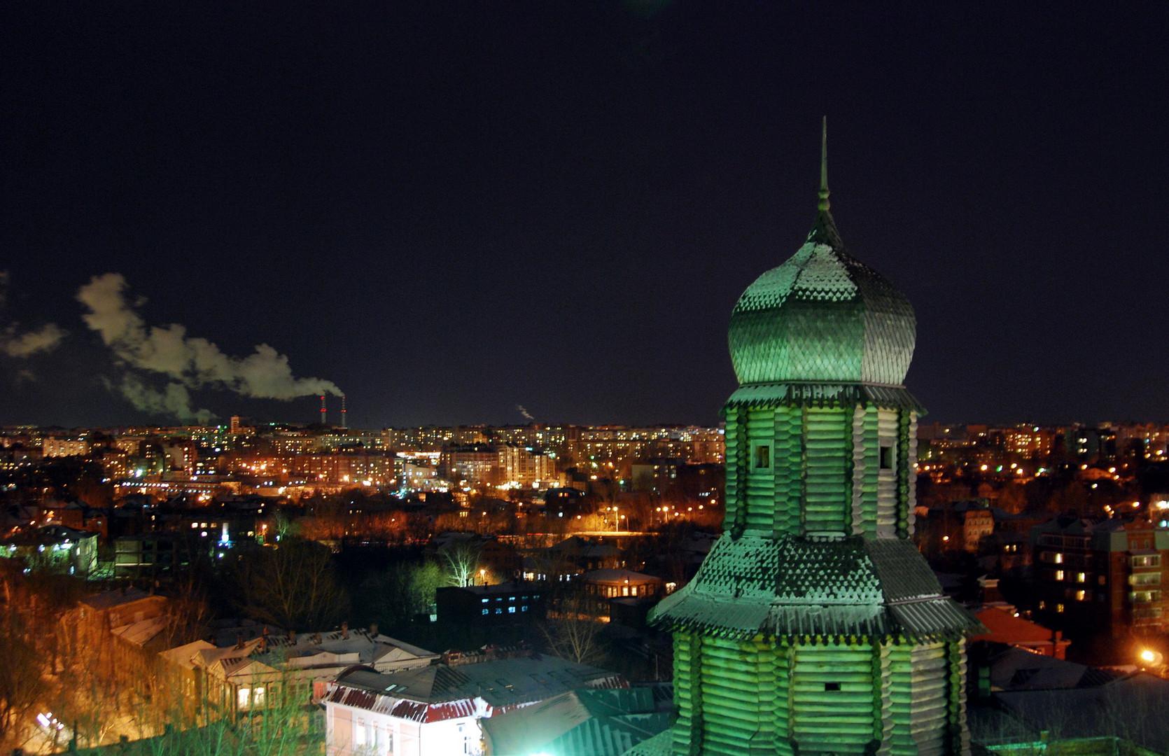 Über den Dächern von Tomsk