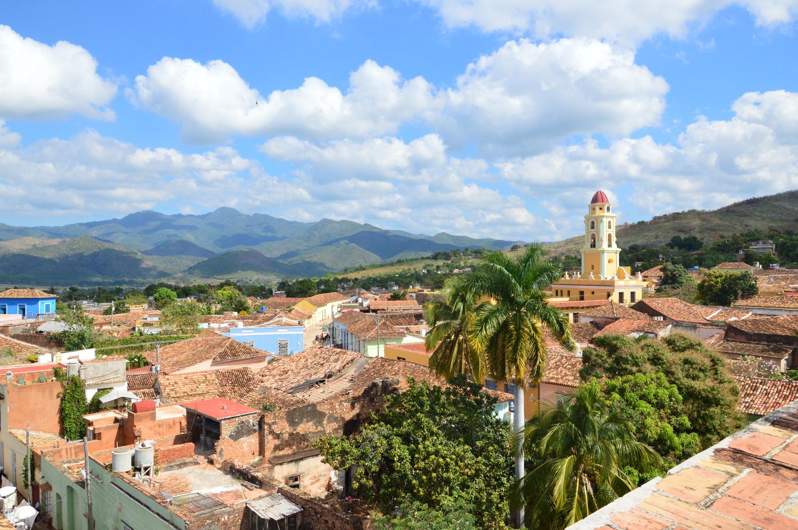Über den Dächern von Trinidad