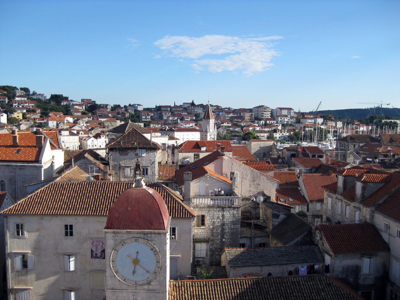 über den Dächern von Trogir