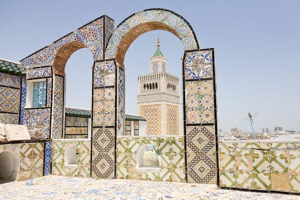 Über den Dächern von Tunis II