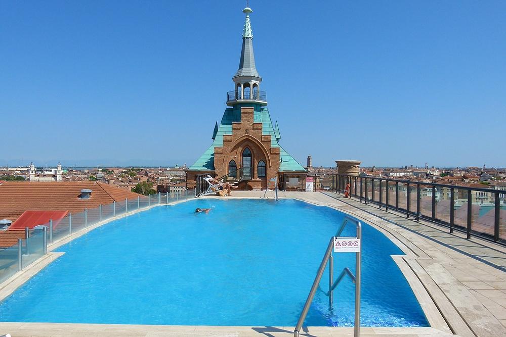 ...über den Dächern von Venedig...