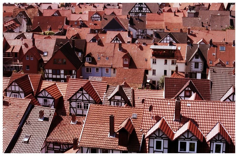 über den Dächern von....Bad Sooden-Allendorf (an der Werra)