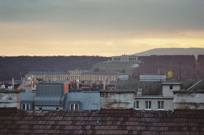Über den Dächern Wiens - Gloriette