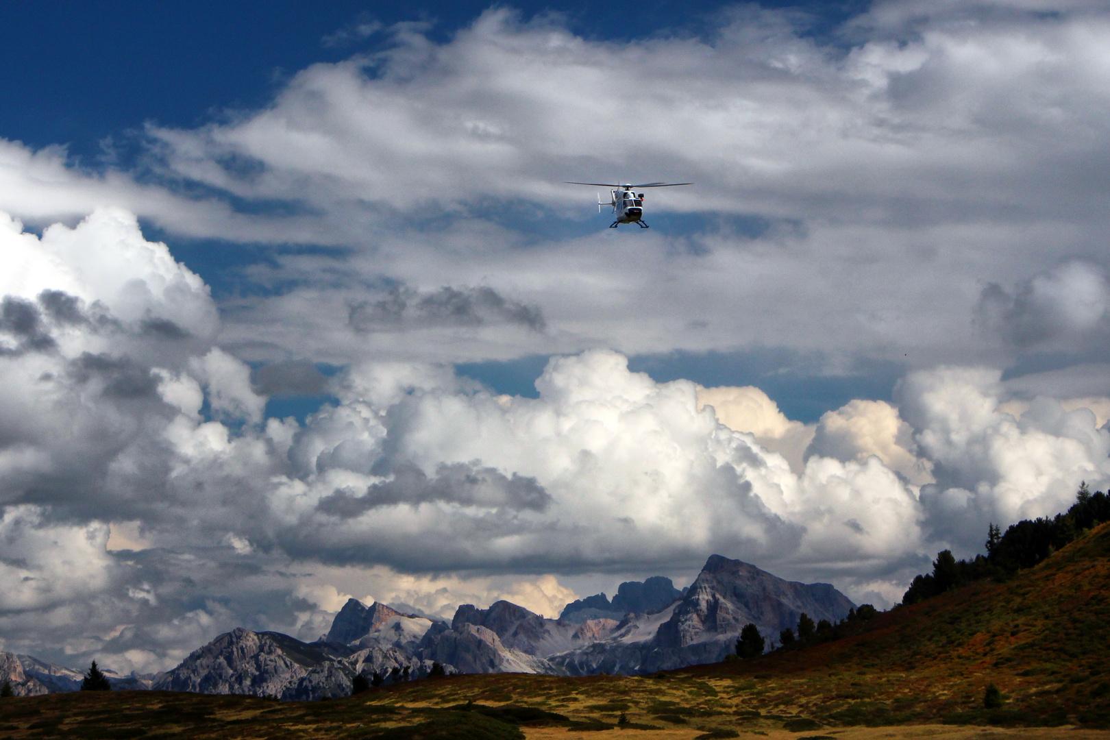 über den Dolomiten