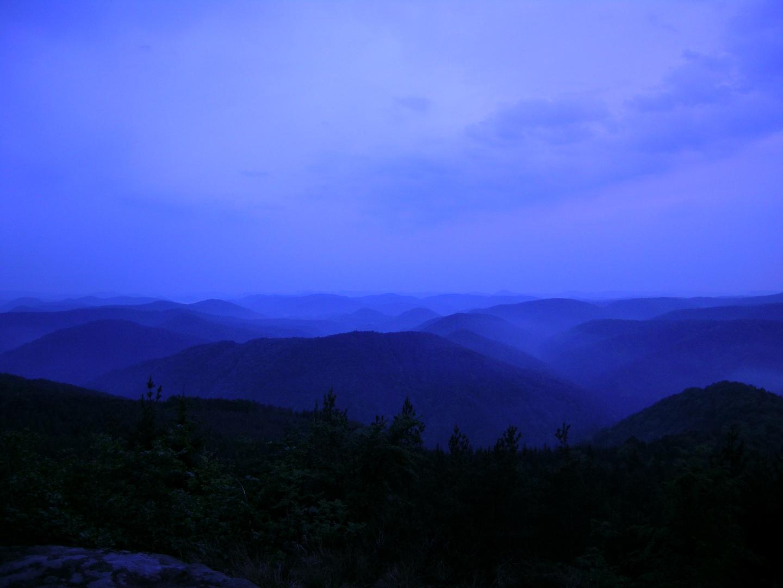 Über den Pfälzer Wald bis zum Schwarzwald