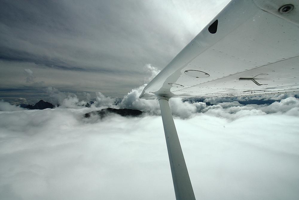 über den wolken ......
