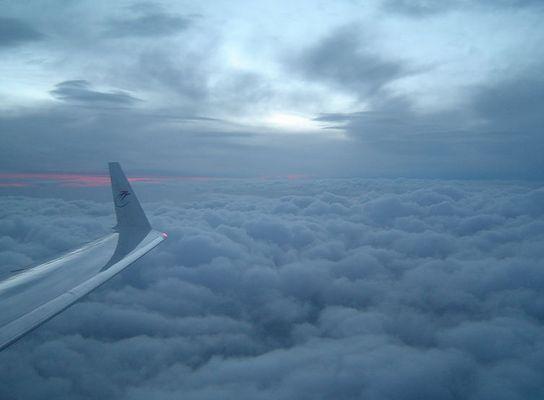Über den Wolken 3 ...