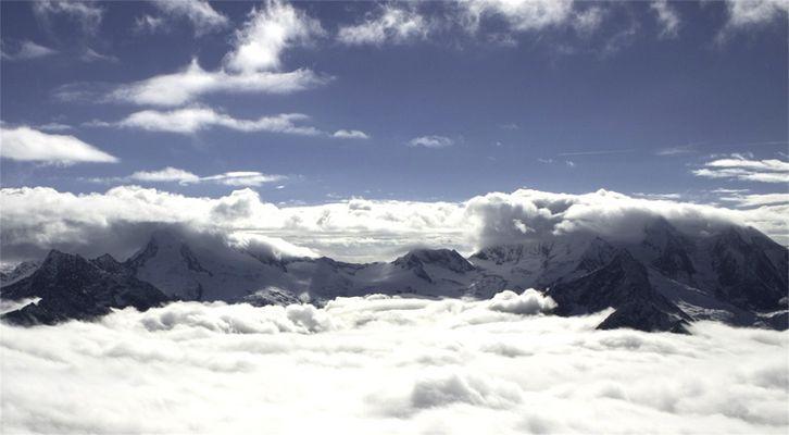 Über den Wolken!
