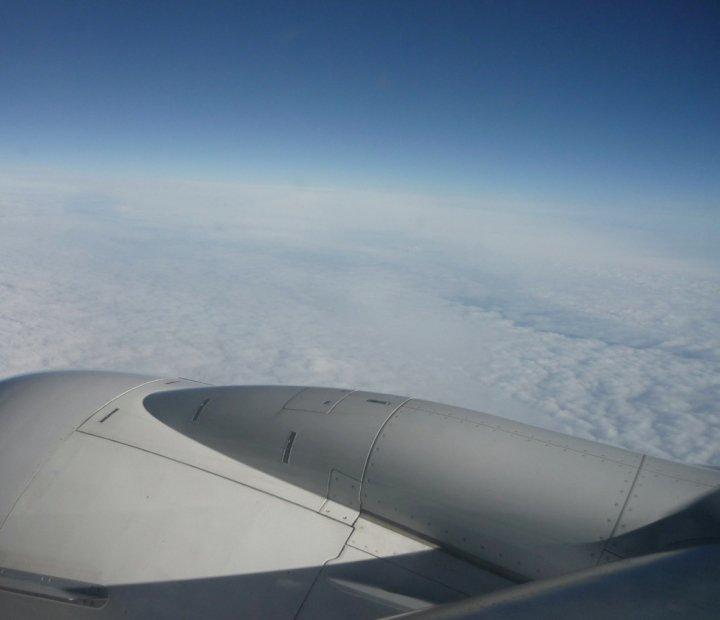 Über den Wolken :)