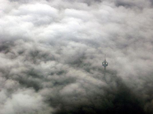 Über den Wolken ...