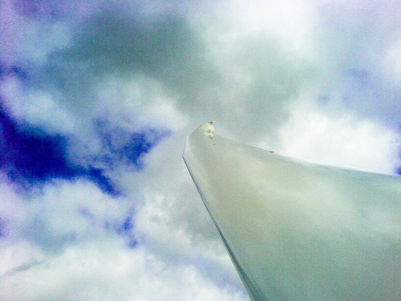 Über den Wolken ....