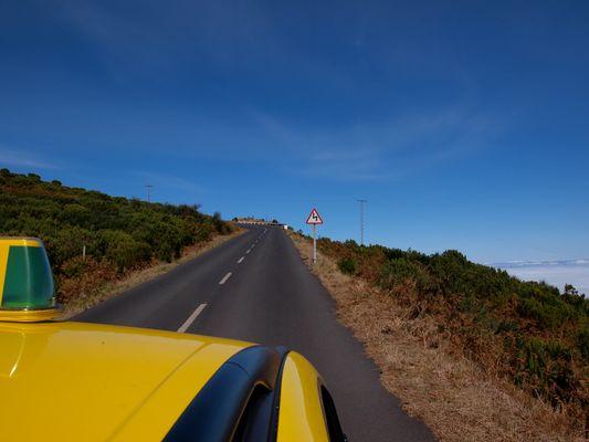 über den Wolken auf Madeira