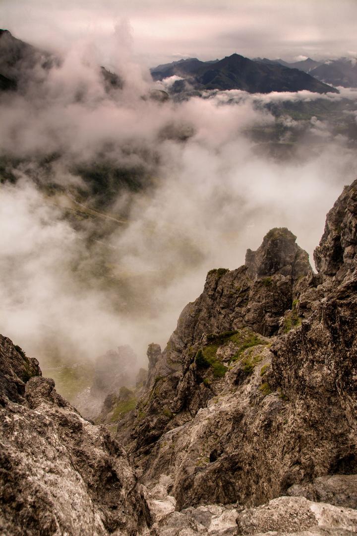 ....über den Wolken