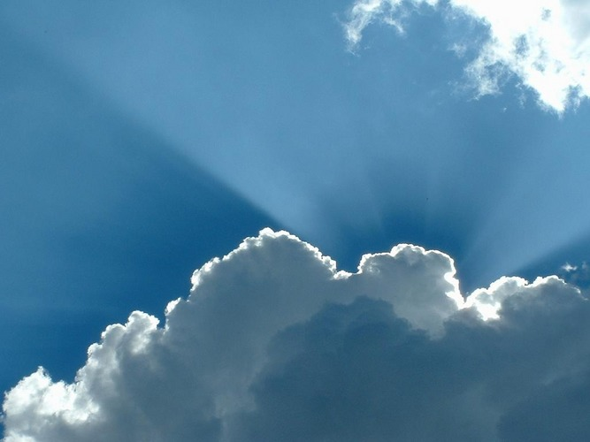 Über den Wolken...