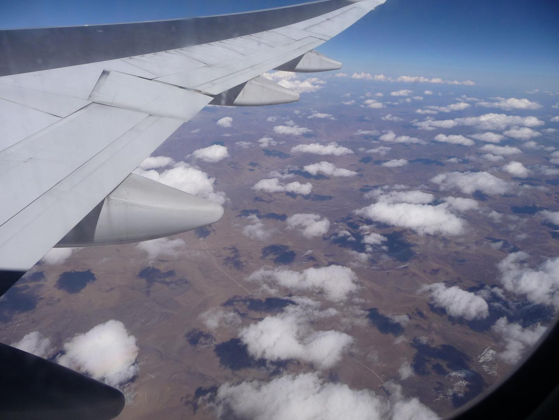 Über den Wolken...........