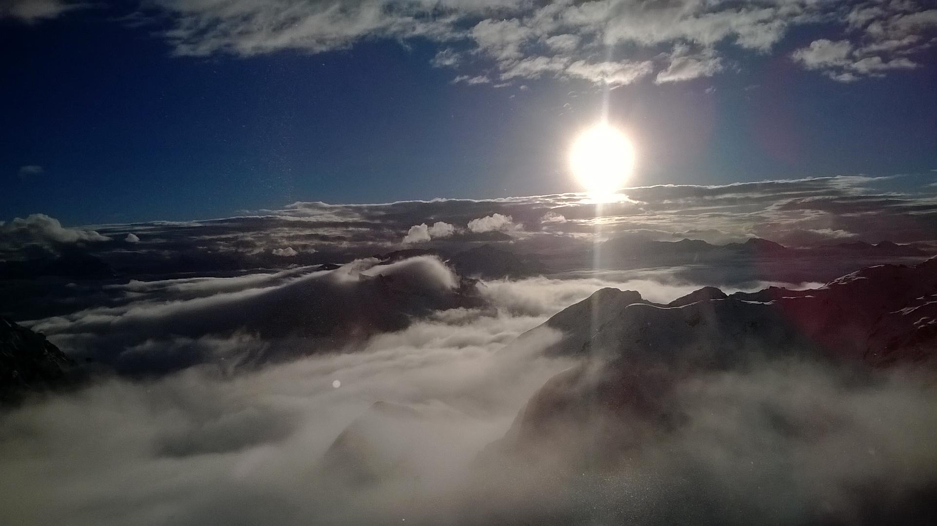 Ueber den Wolken....