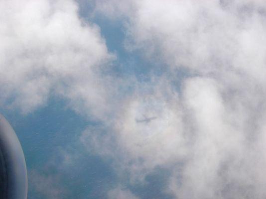 ...über den Wolken...