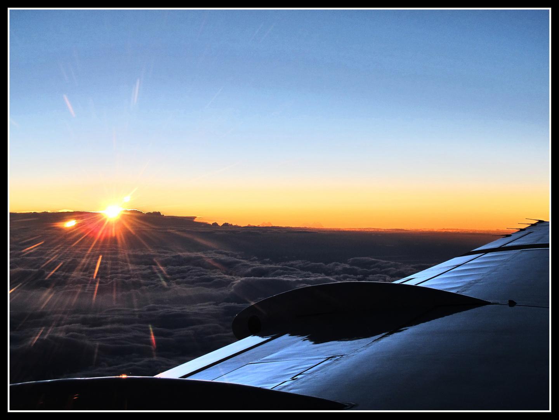 ...über den Wolken da ist die Freiheit tatsächlich grenzenlos...schön...