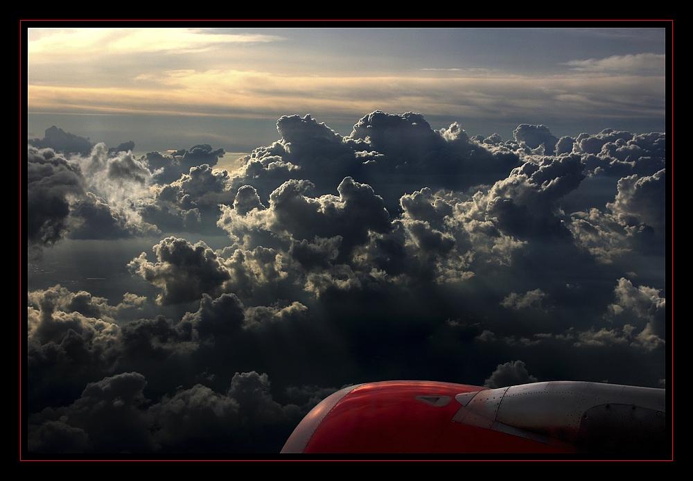 Über den Wolken .....