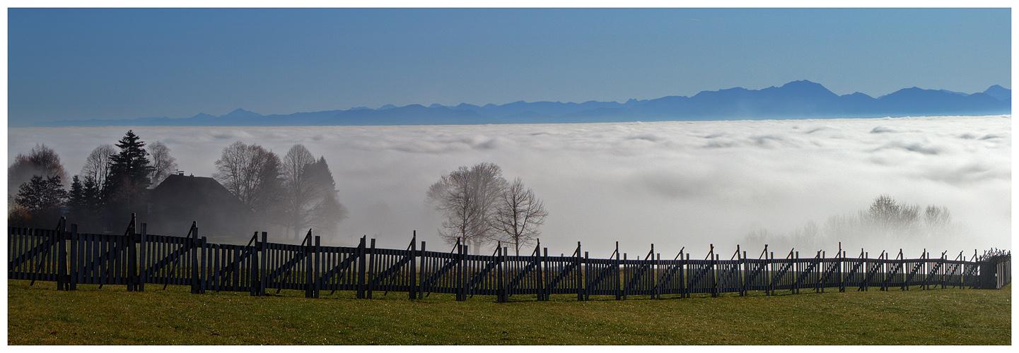 Über den Wolken (III)...