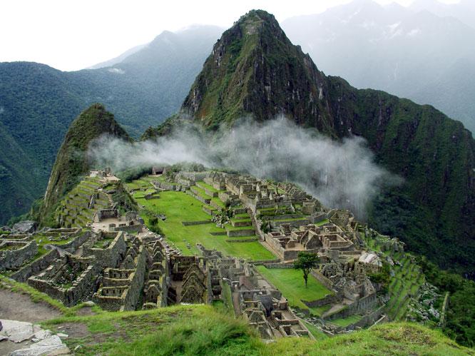 Über den Wolken - Machu Picchu
