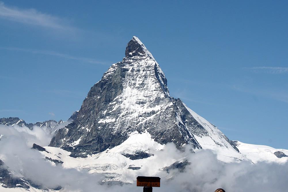 Über den Wolken / Matterhorn