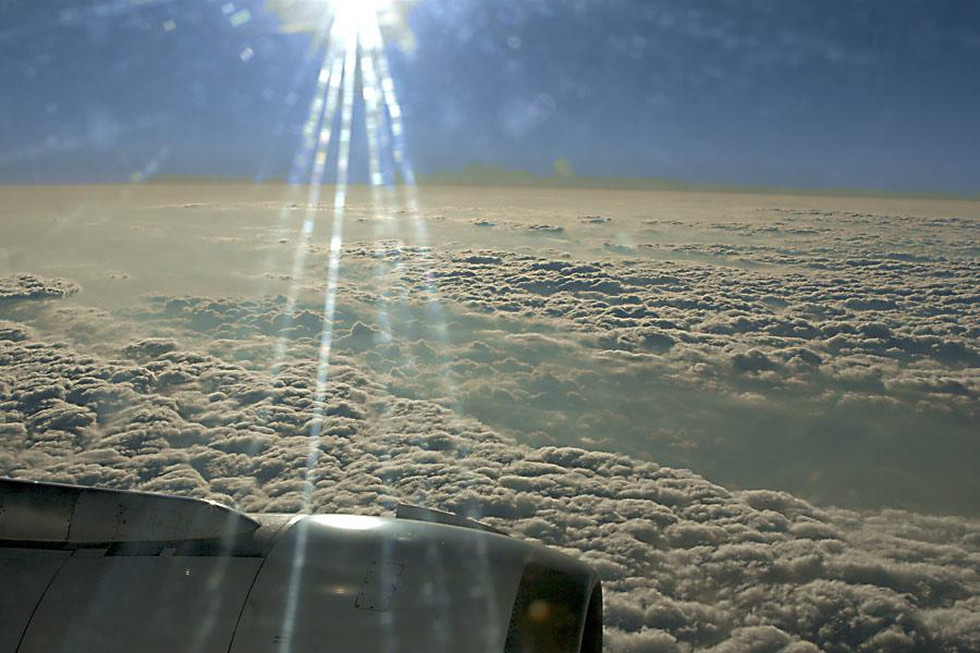 ... über den Wolken muß der Himmel grenzenlos sein