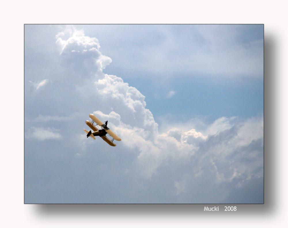 Über den Wolken muss die Freiheit wohl .......