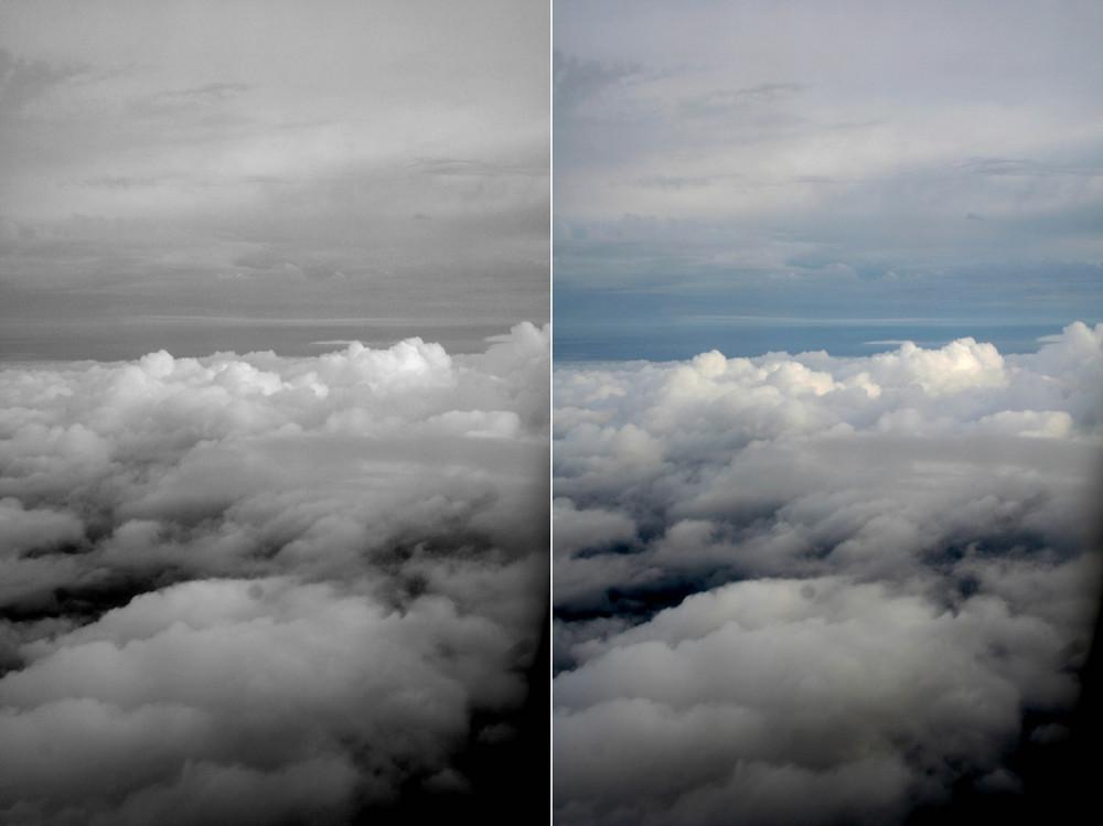 Über den Wolken, muss die Freiheit wohl grenzenlos sein.