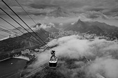 über den Wolken  Rio de Janeiro