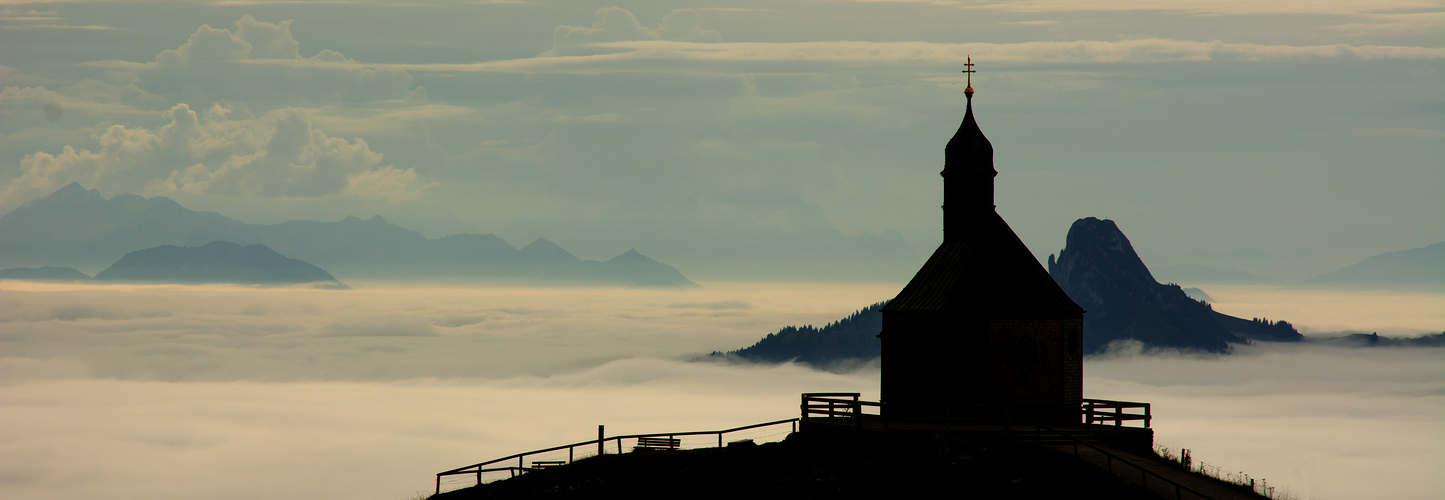 """""""über den Wolken"""" (Rottach-Egern, Wallberg)"""