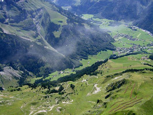 Über den Wolken von Engelberg