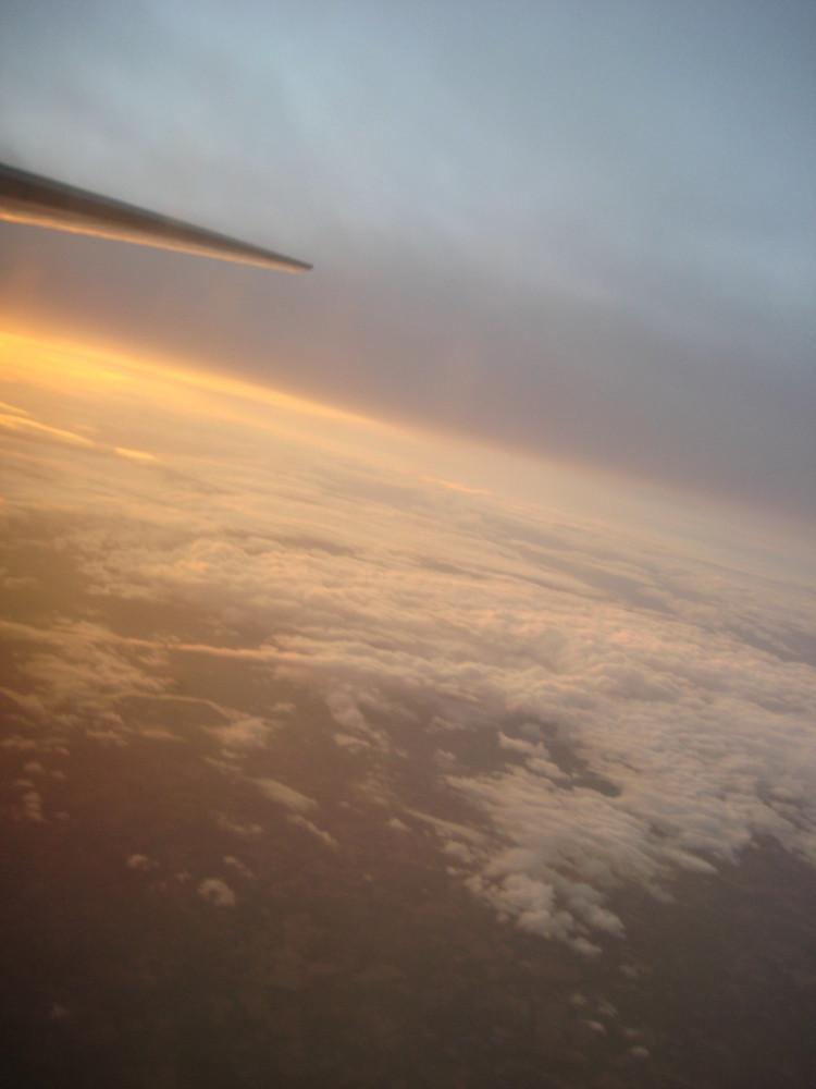 Über den Wolken von Irland
