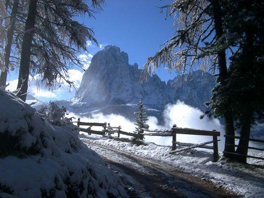 Über den Wolken von Südtirol