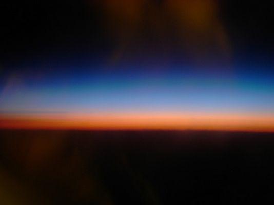 Über den Wolken.......von Ungarn