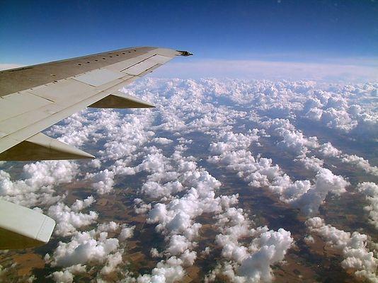 Über denn Wolken