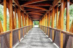 Über die Jagdbrücke