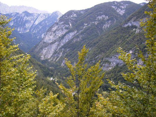 Über die slowenischen Alpen...
