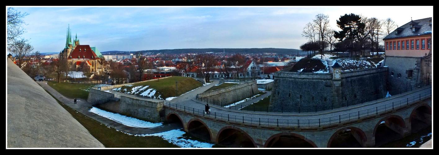 Über Erfurt