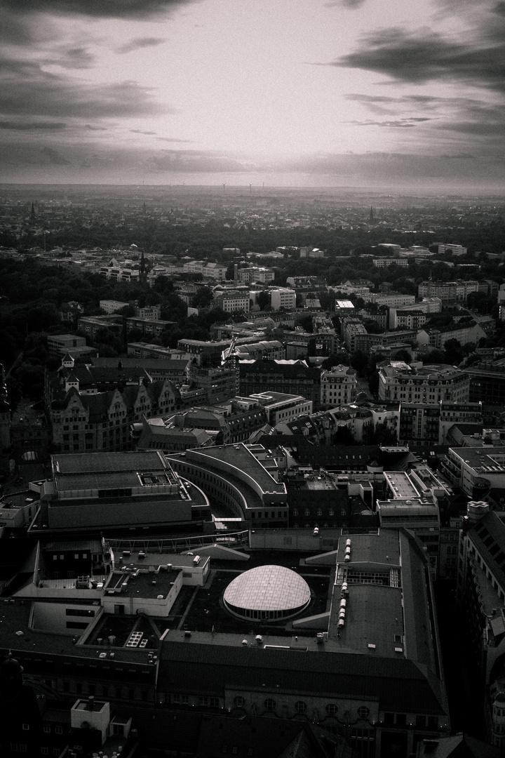Über Leipzig