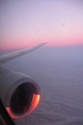 über mir der Himmel unter mir die Wüste....