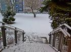 Über Nacht hat es geschneit…