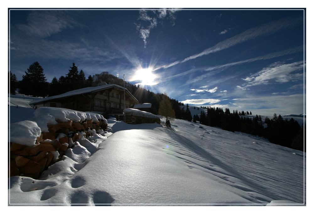 über neujahr in die berge...