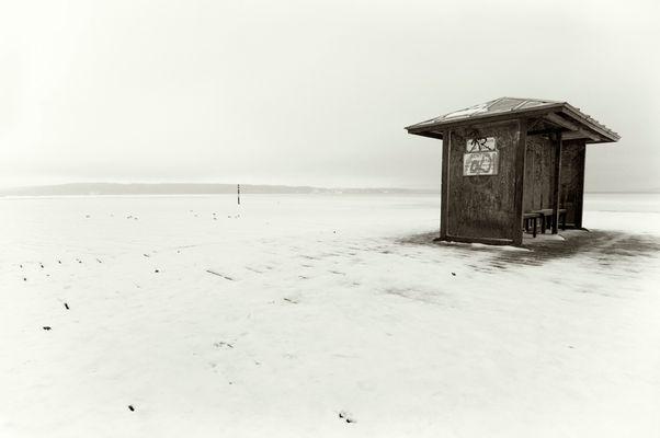 über Schnee und Eis