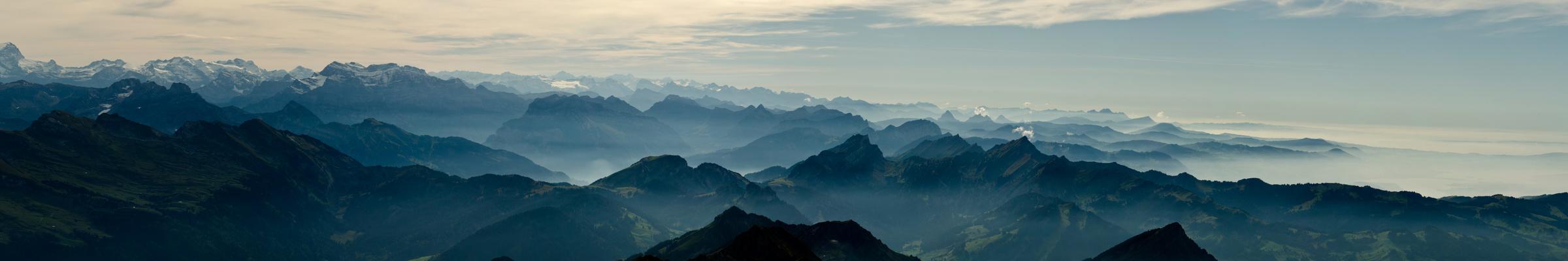 über Sieben Gipfel...