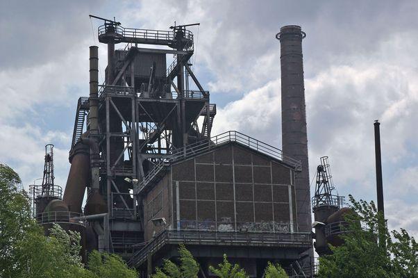 Überbleibsel der Stahlindustrie