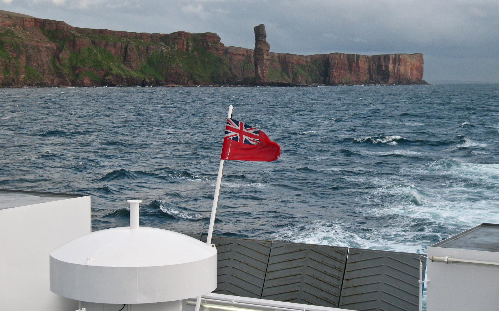 Überfahrt auf die Orkneys (Schottland)