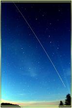 Überflug der ISS Raumstation